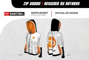 Zip Hoodie 3D presnt